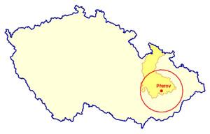 Výlety mapa ČR