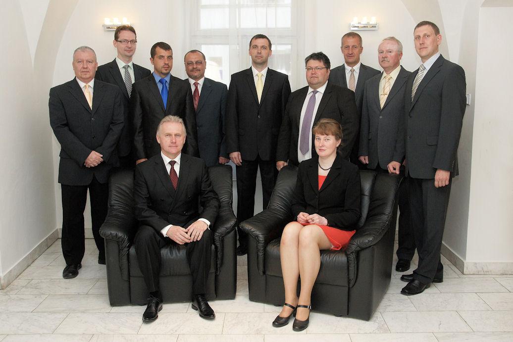 Rada města 2010 - 2014, obrázek se otevře v novém okně