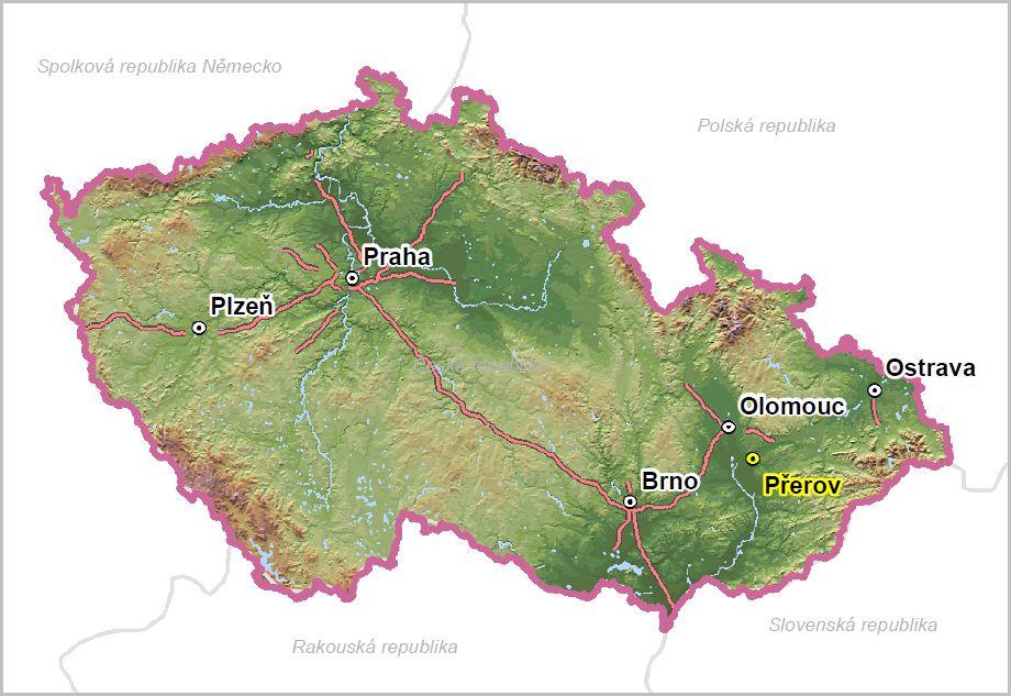 Přerov v ČR, obrázek se otevře v novém okně