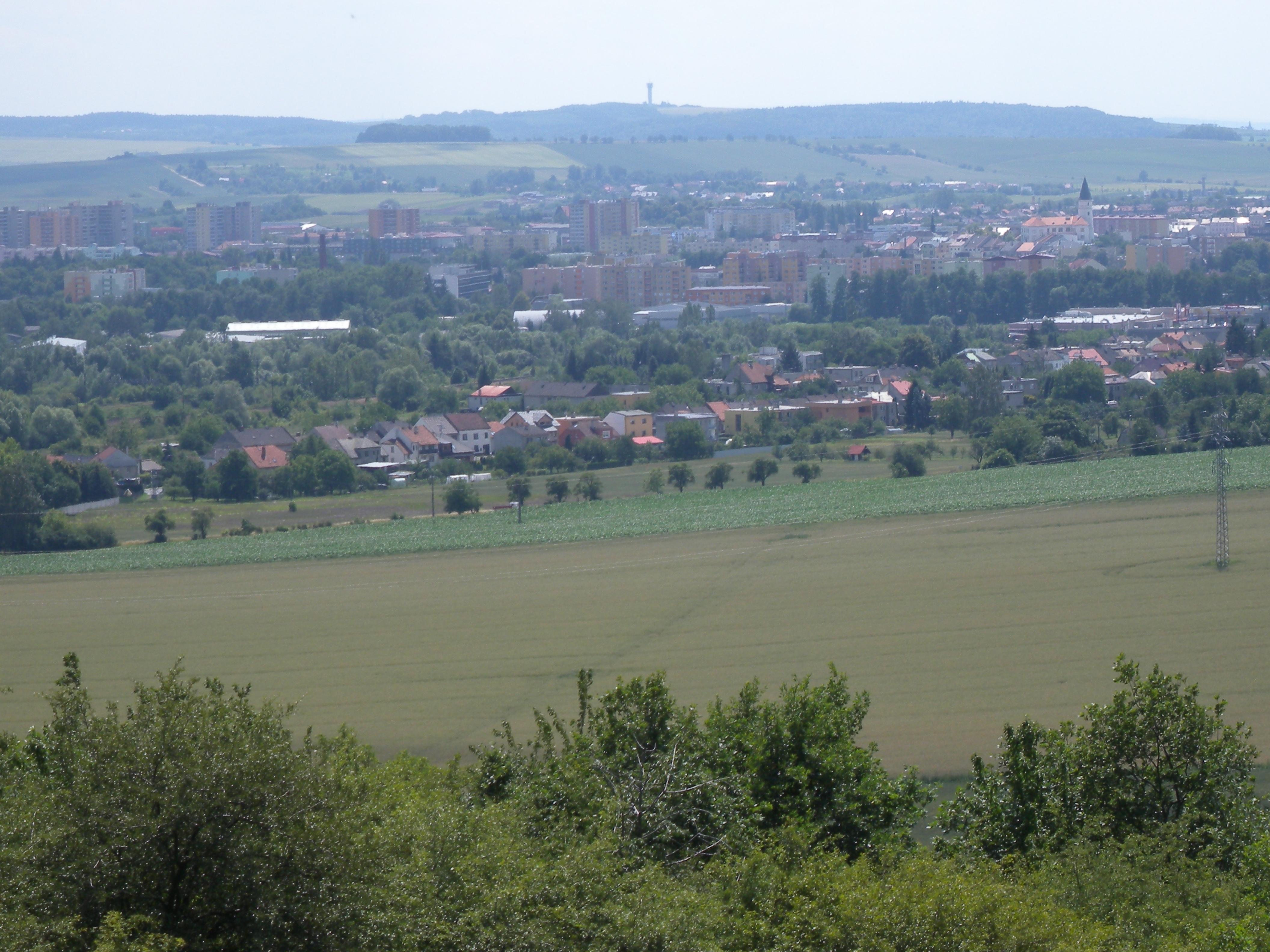 Panorama Přerova II, obrázek se otevře v novém okně