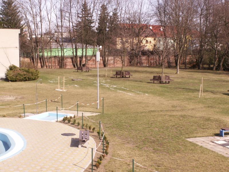 Venkovní prostranství - bazén, obrázek se otevře v novém okně