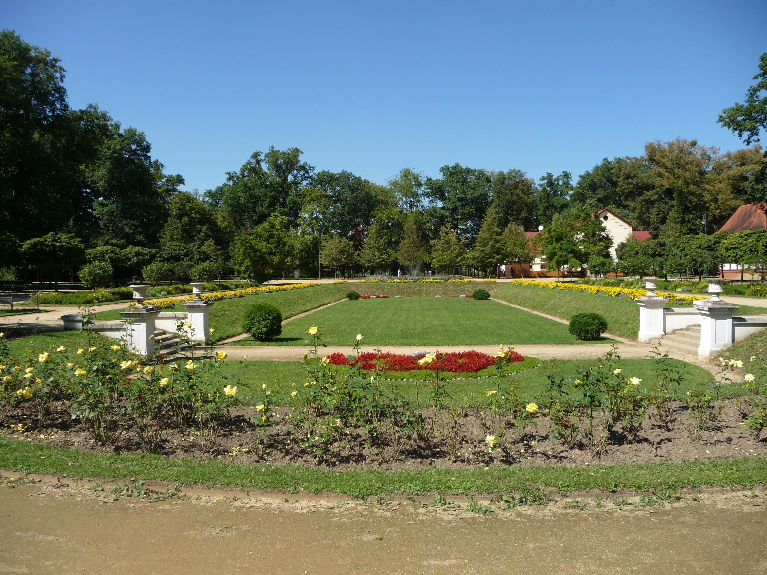 Městský park Michalov , obrázek se otevře v novém okně