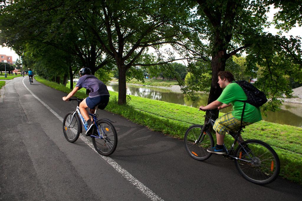 Cyklostezka kolem Bečvy, obrázek se otevře v novém okně
