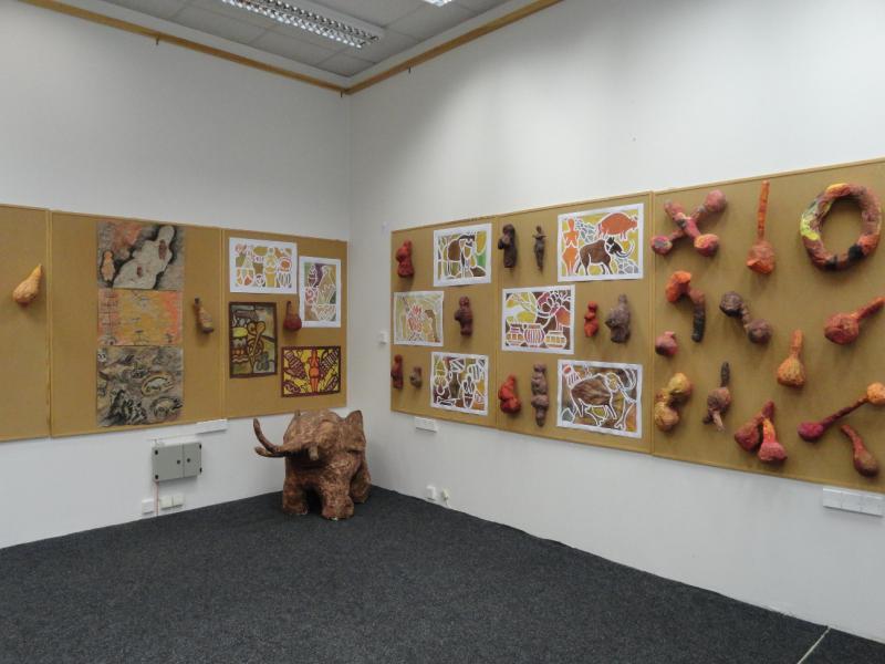 Výstava Pravěk II., obrázek se otevře v novém okně