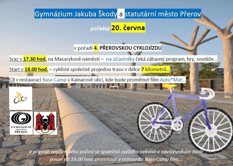 Cyklojízda Přerov, obrázek se otevře v novém okně