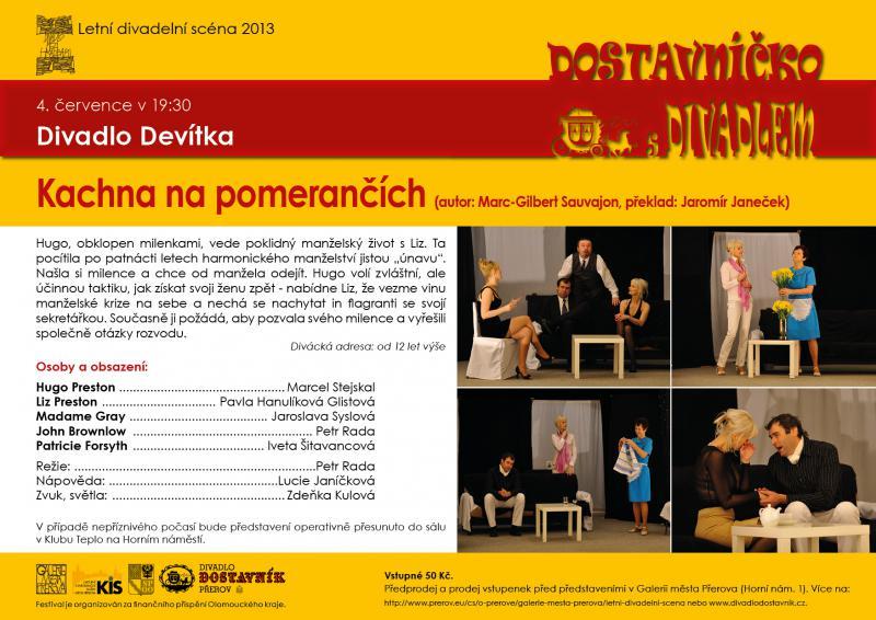 Divadlo Devítka, Ostrava – Pustkovec, obrázek se otevře v novém okně