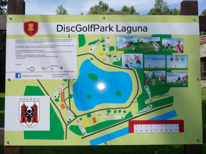 DiscGolfPark Laguna, obrázek se otevře v novém okně