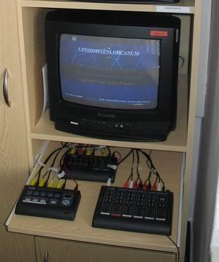 Vstup do kabelové televize, obrázek se otevře v novém okně