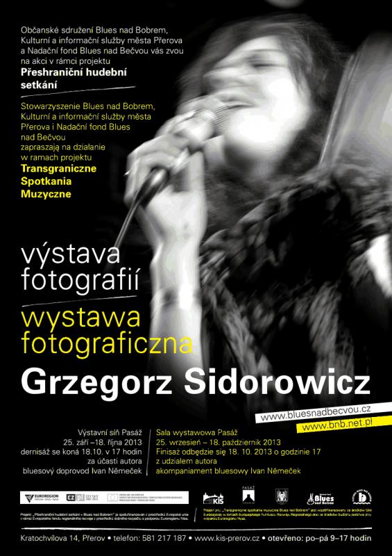 Výstava Grzegorze Sidorowicze, obrázek se otevře v novém okně