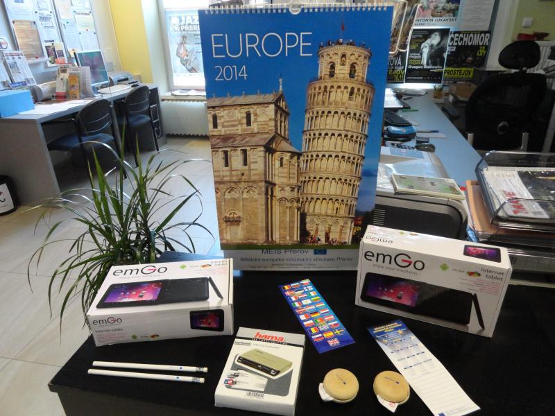 Odměny Eurokviz, obrázek se otevře v novém okně