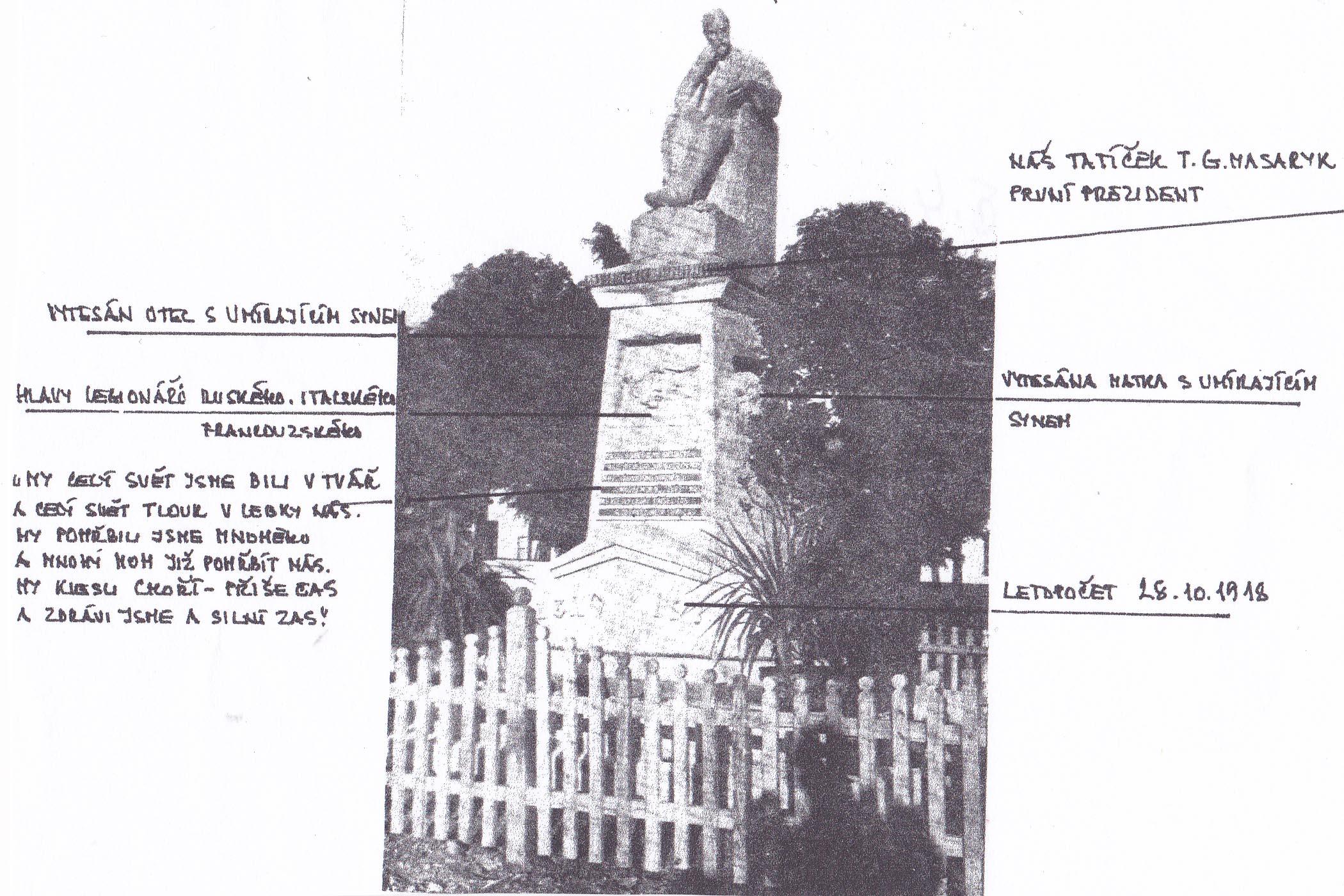 Pomník, obrázek se otevře v novém okně