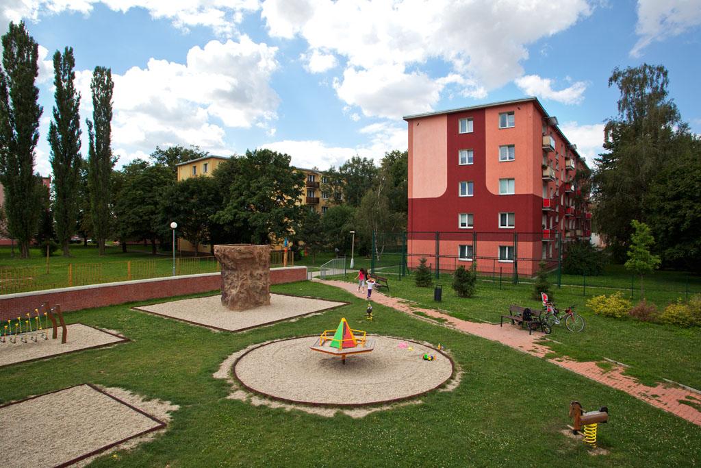 Dětské hřiště Jasínkova, obrázek se otevře v novém okně