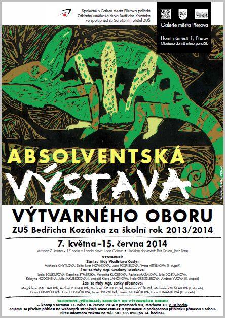 Absolventská výstava výtvarného oboru 2014