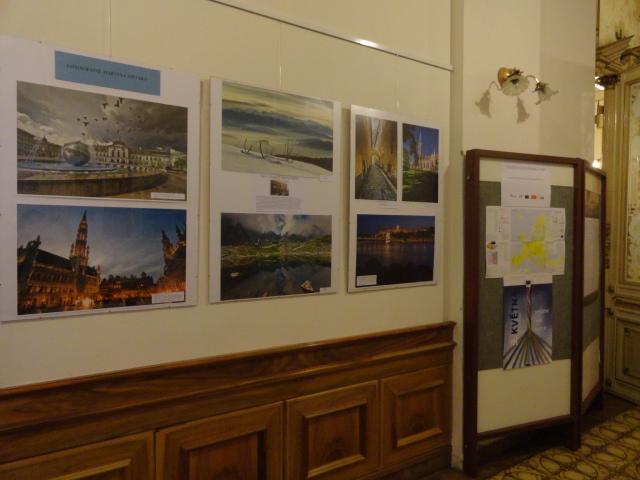 Výstava o EU, obrázek se otevře v novém okně