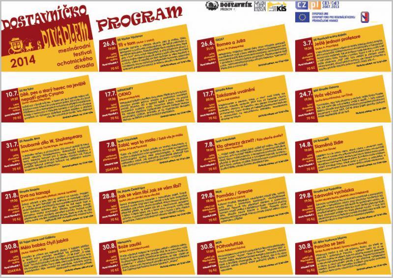Dostavnicko 2014   program, obrázek se otevře v novém okně