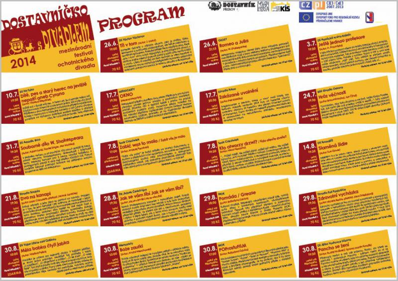 Dostavnicko 2014   program