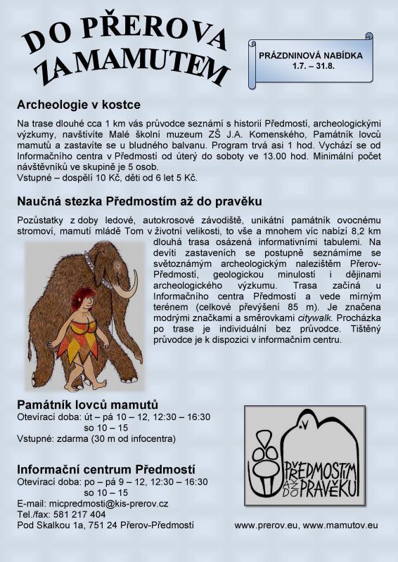Archeologie v kostce 2014, obrázek se otevře v novém okně